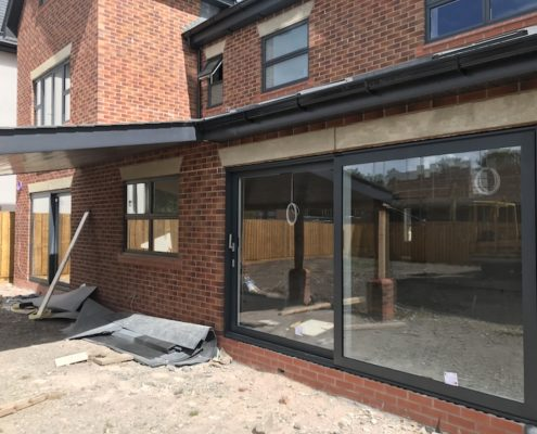 sliding doors and glazing to home in Preston