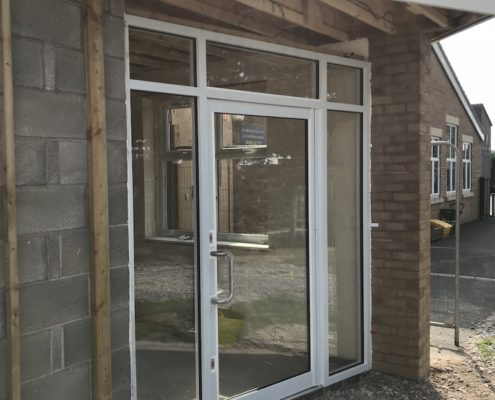 aluminium door fitted Preston