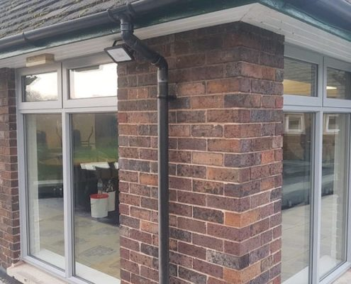 Bowden golf club aluminium windows