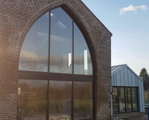 cheadle SF52 curtain walling