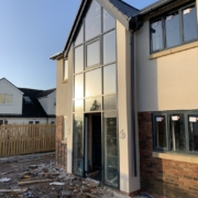 curtain wall and aluminium windows Kelsall Cheshire